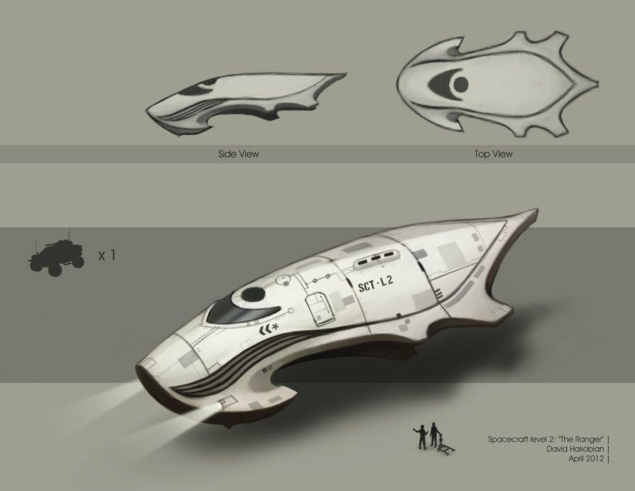 Spacecraft level 2 by DavidHakobian.deviantart.com on @deviantART