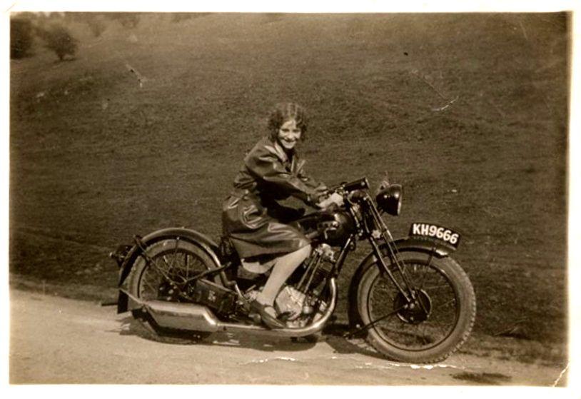Mystery Moto Girl