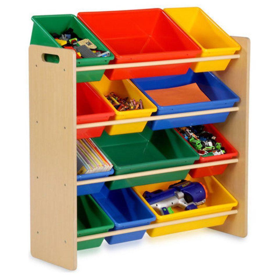 Kids Storage Toy Organizer In Multicolor Kids Toy Organization