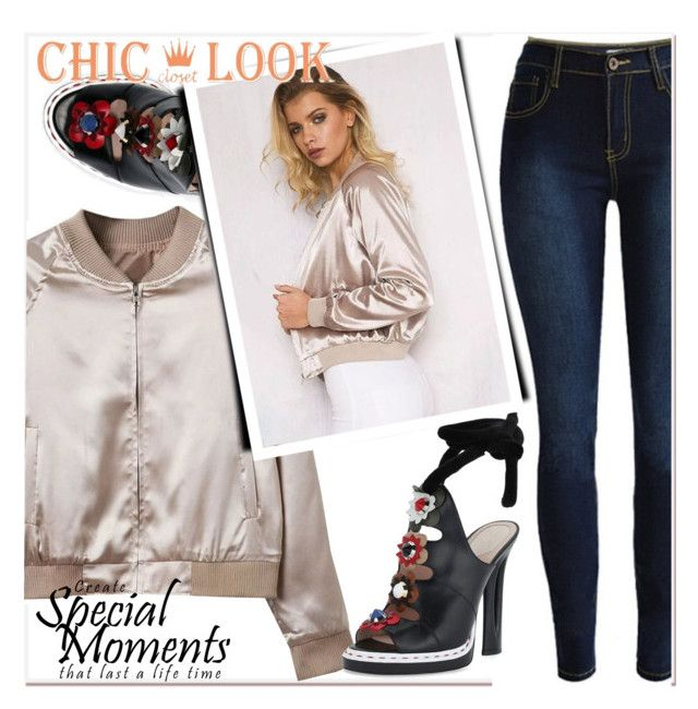 """CHICLOOKCLOSED"" by selmir ❤ liked on Polyvore"