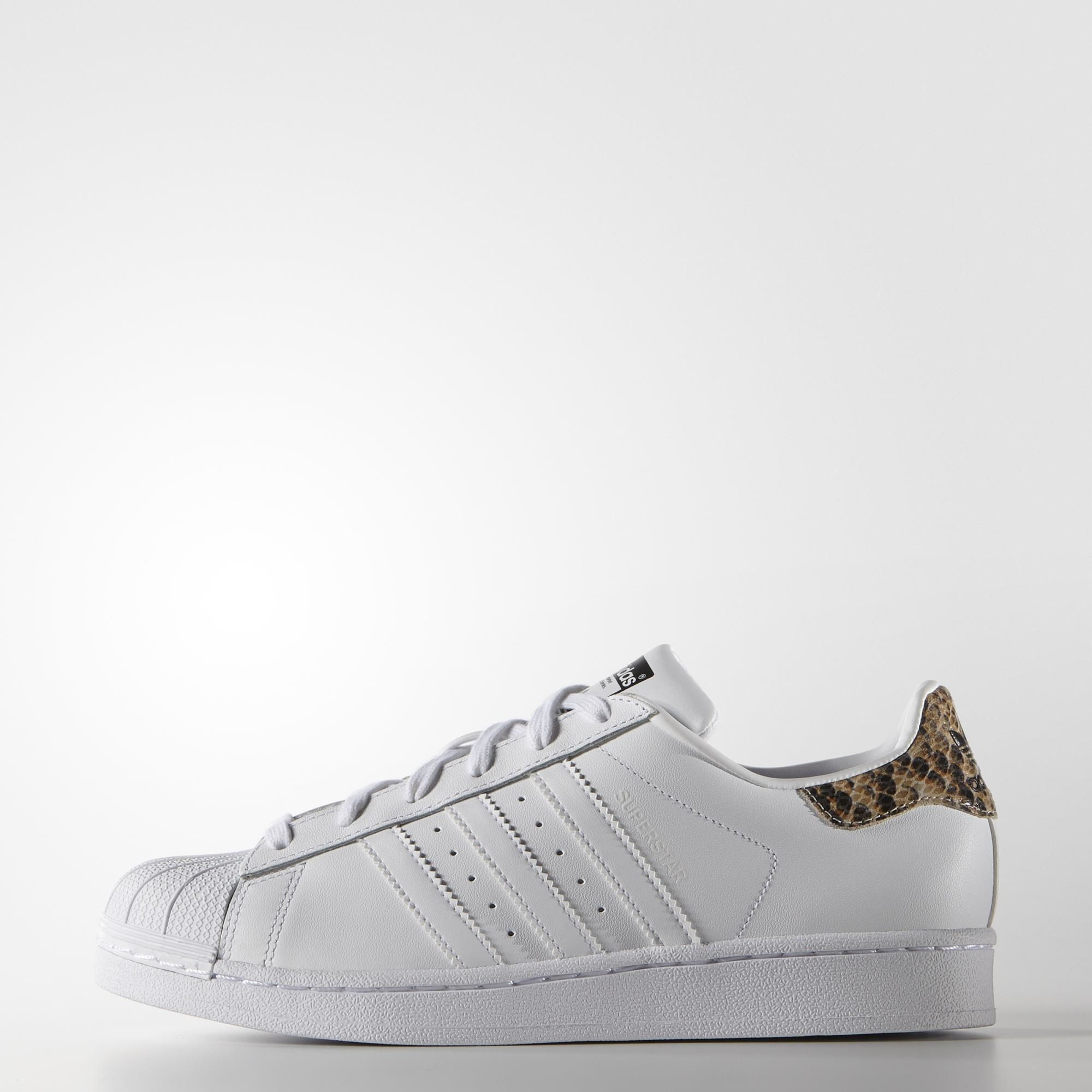 adidas superstar blancas y serpiente