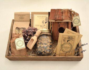 Bird Lovers Collection // Bird House // Bird Feeder // Gardener Gift //  Garden Decor // Gardening Gift