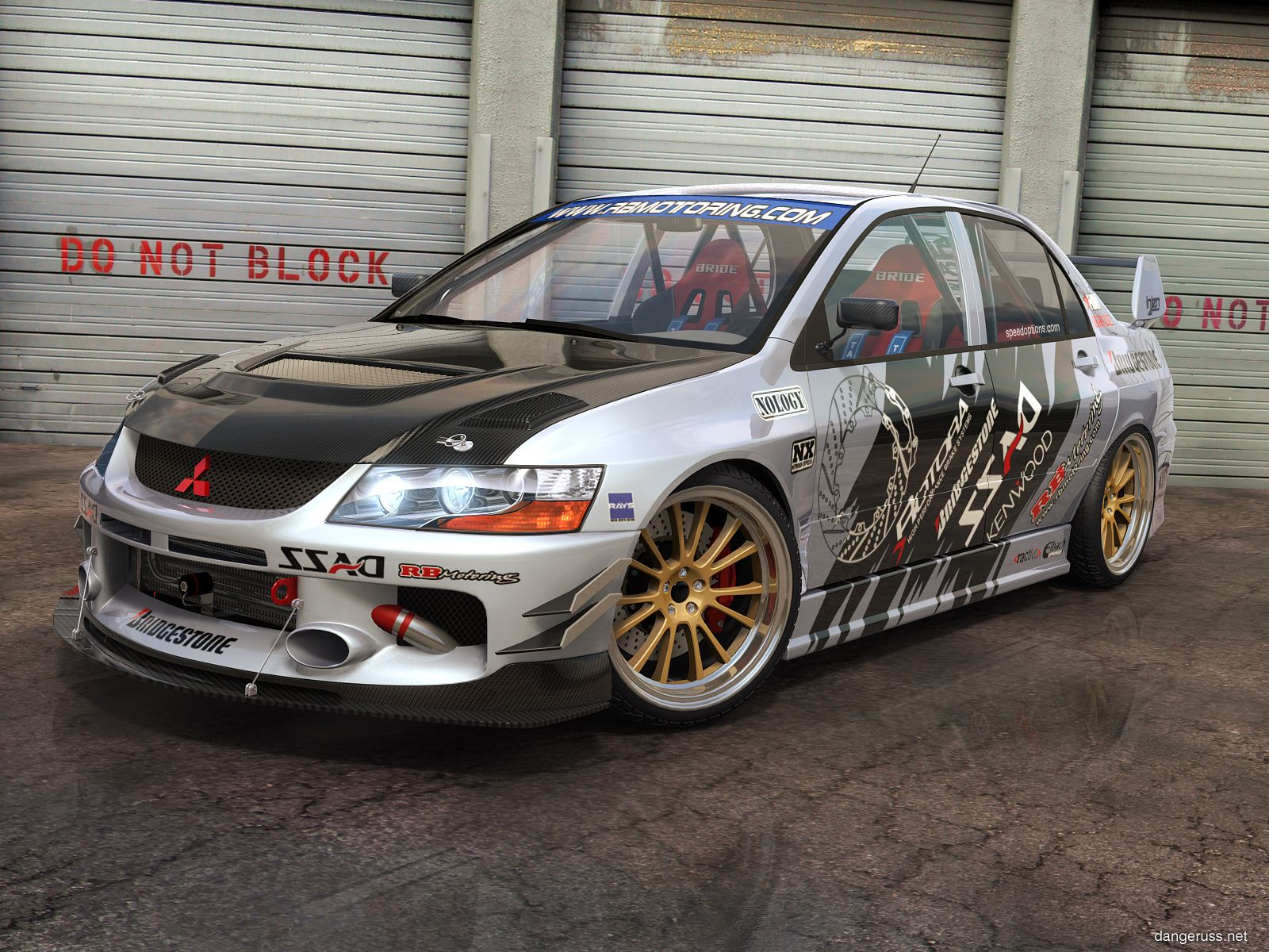 road race mitsubishi motorsports z features gts lancer modified engine modp