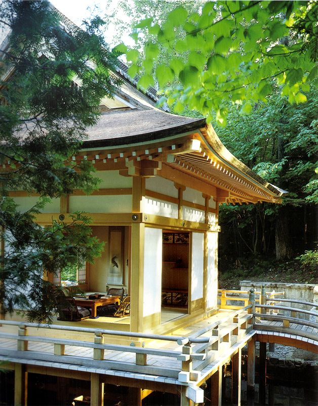 See on our site a beautiful Japanese garden structure complex in Quebec Canada. It includes 2 traditional viewing pavilions a machiai a Japanese gate. & See on our site a beautiful Japanese garden structure complex in ...