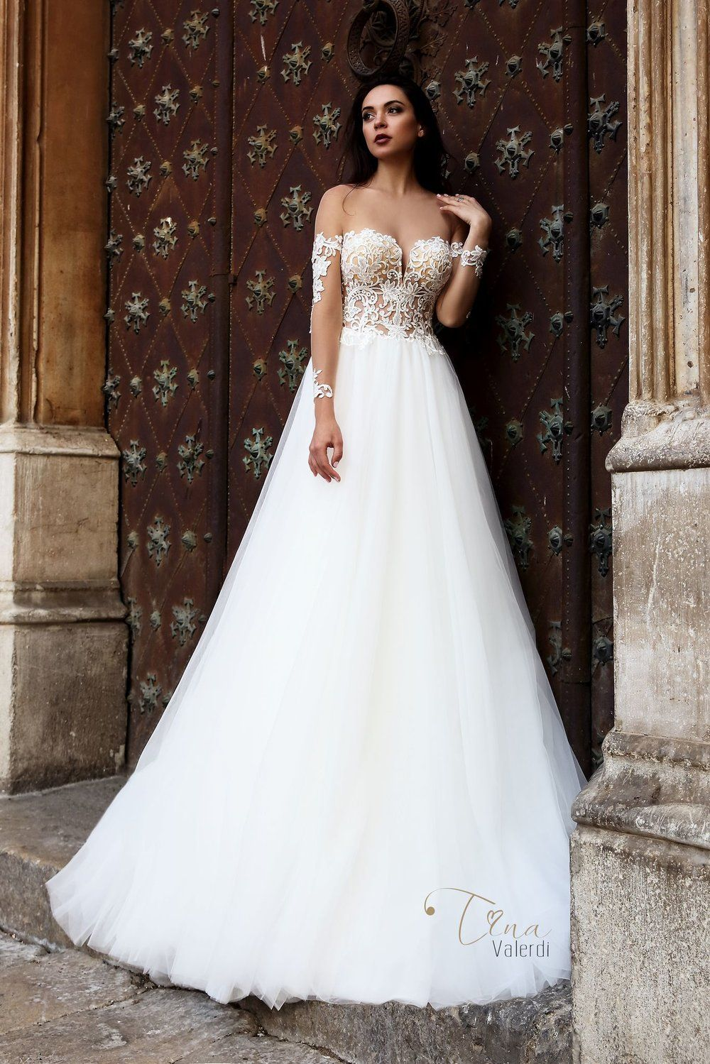 DIANA wedding Dress By TINA VALERDI Váy cưới