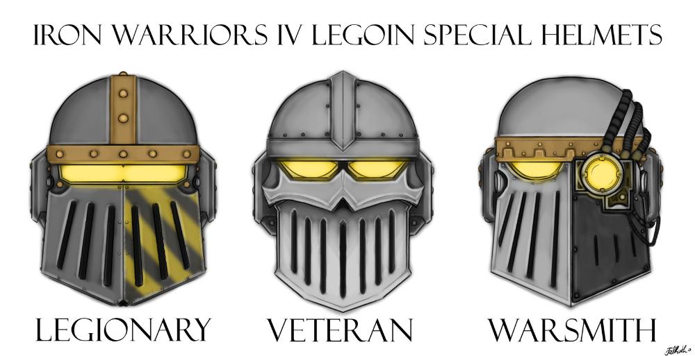 Iron Warriors Iv Legoin Spedial Helmets Falkirth Warhammer 40000 Concept Arts Warhammer Warhammer 40000 Warrior