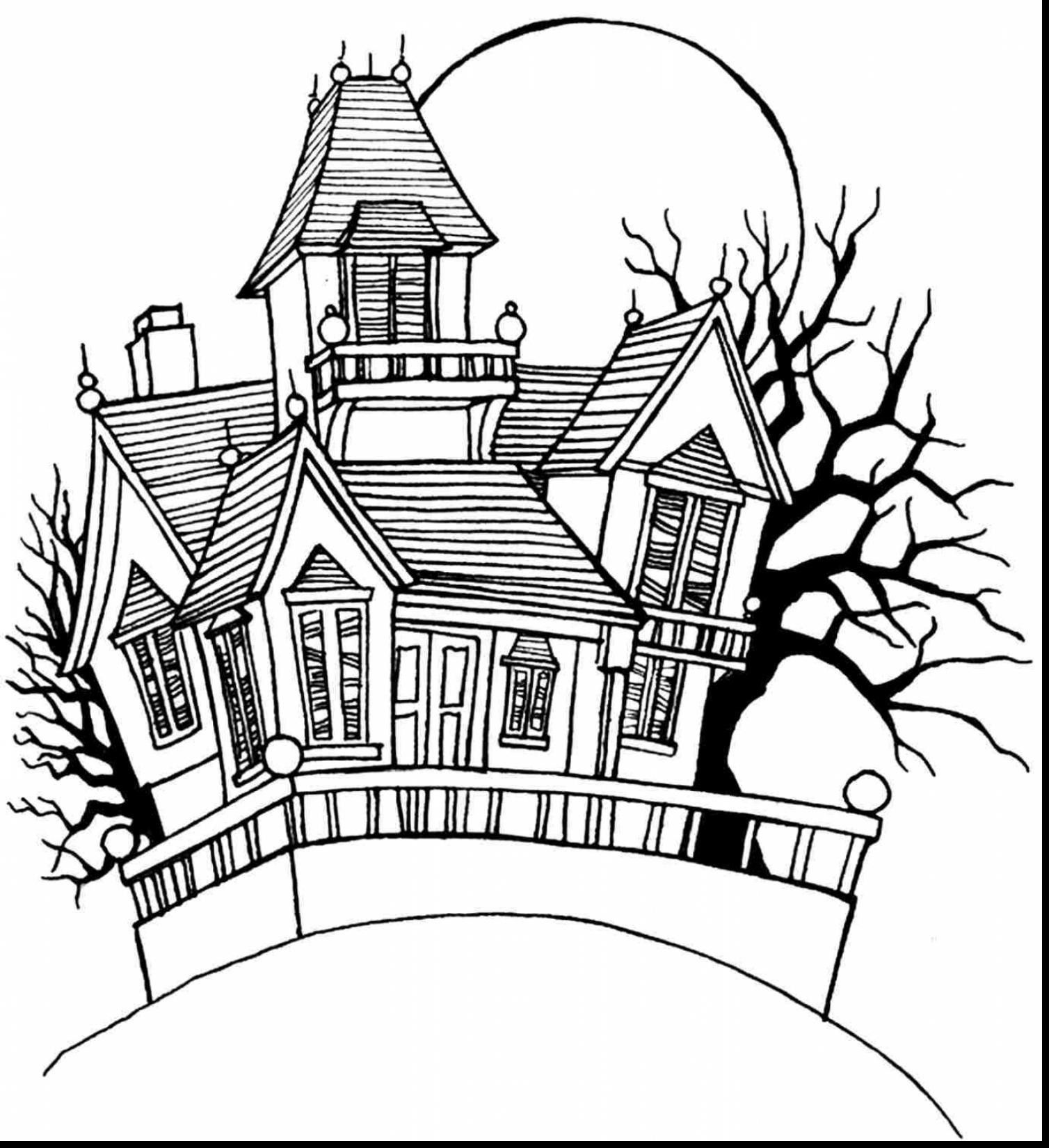 House Coloring Page Coloring Pages White House Coloring Page Draw