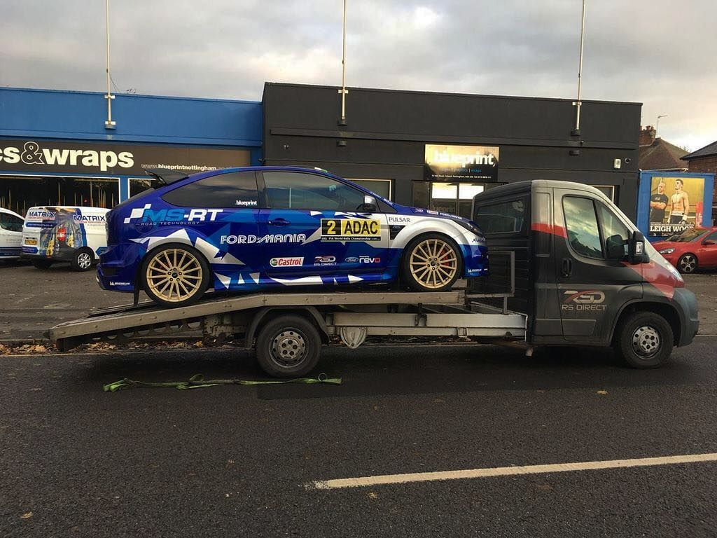 A good client asked us to facilitate a new wrap on his rs focus job a good client asked us to facilitate a new wrap on his rs focus job done with the help of blueprint nottingham some of you may recognise this as our old malvernweather Choice Image