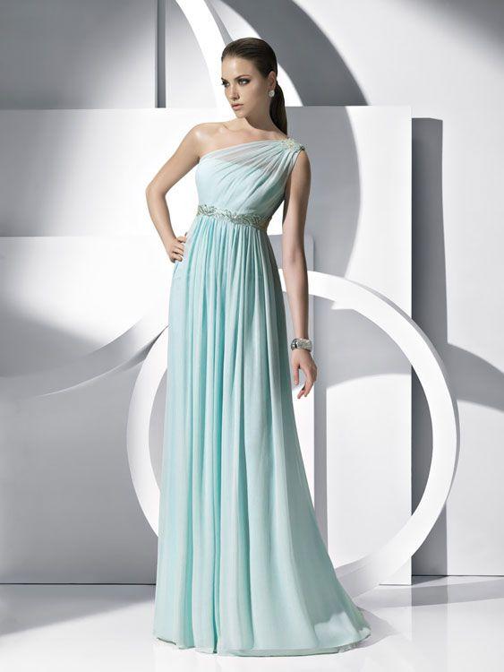 Pronovias vestidos de fiesta 2012: quiero uno en color pastel ...