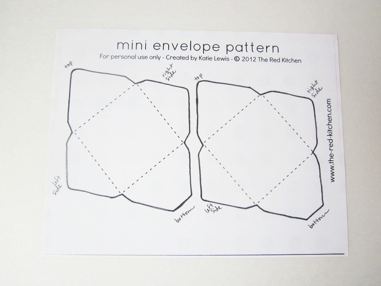 Envelope 2 Jpg 1600 1200 Mini Envelopes Template Mini Envelopes Diy Envelope Template