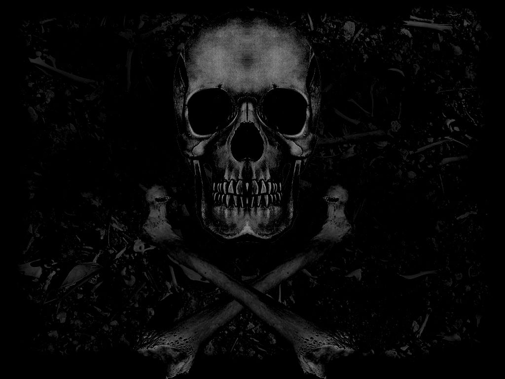 skull wallpaper for windows 7 - photo #40