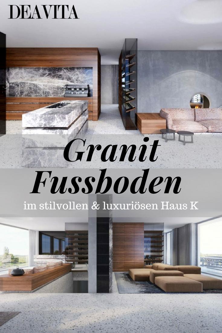 Beeindruckend Moderner Bodenbelag Ideen Von Das Moderne Fasziniert Außerdem Mit Dem Granit