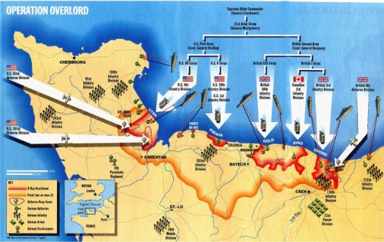 Operation Overlord Historical Infographics Pinterest Battle Of
