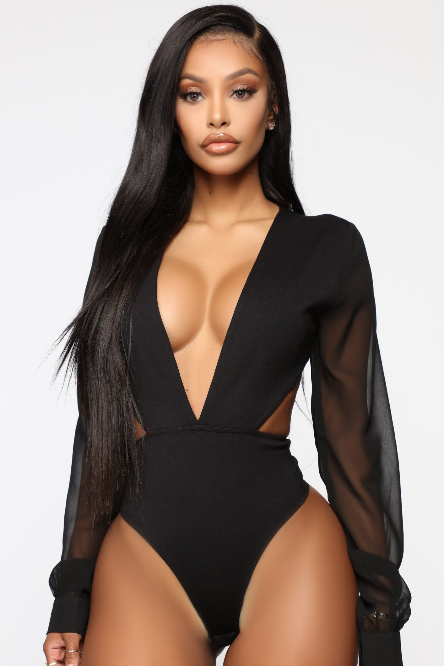 Making Decisions Bodysuit - Black