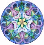 Mandala Art Plates -