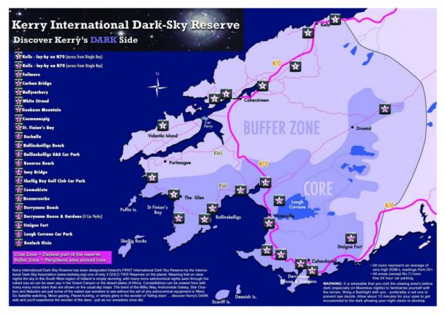 Dark Sky Reserve IrelandHSH Pinterest Dark Skies Ireland - Dark sky map
