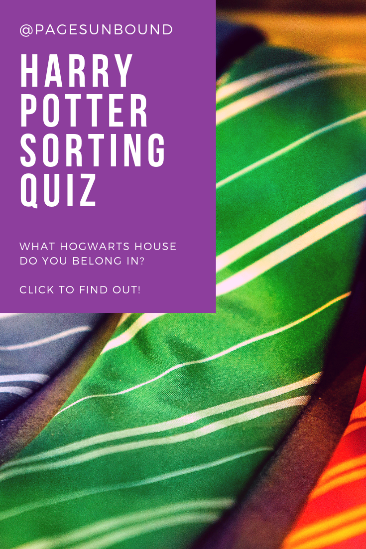 Wizarding School Adventure The Sorting Hat A Personality Quiz Sorting Quiz Book Blogger Harry Potter House Sorting