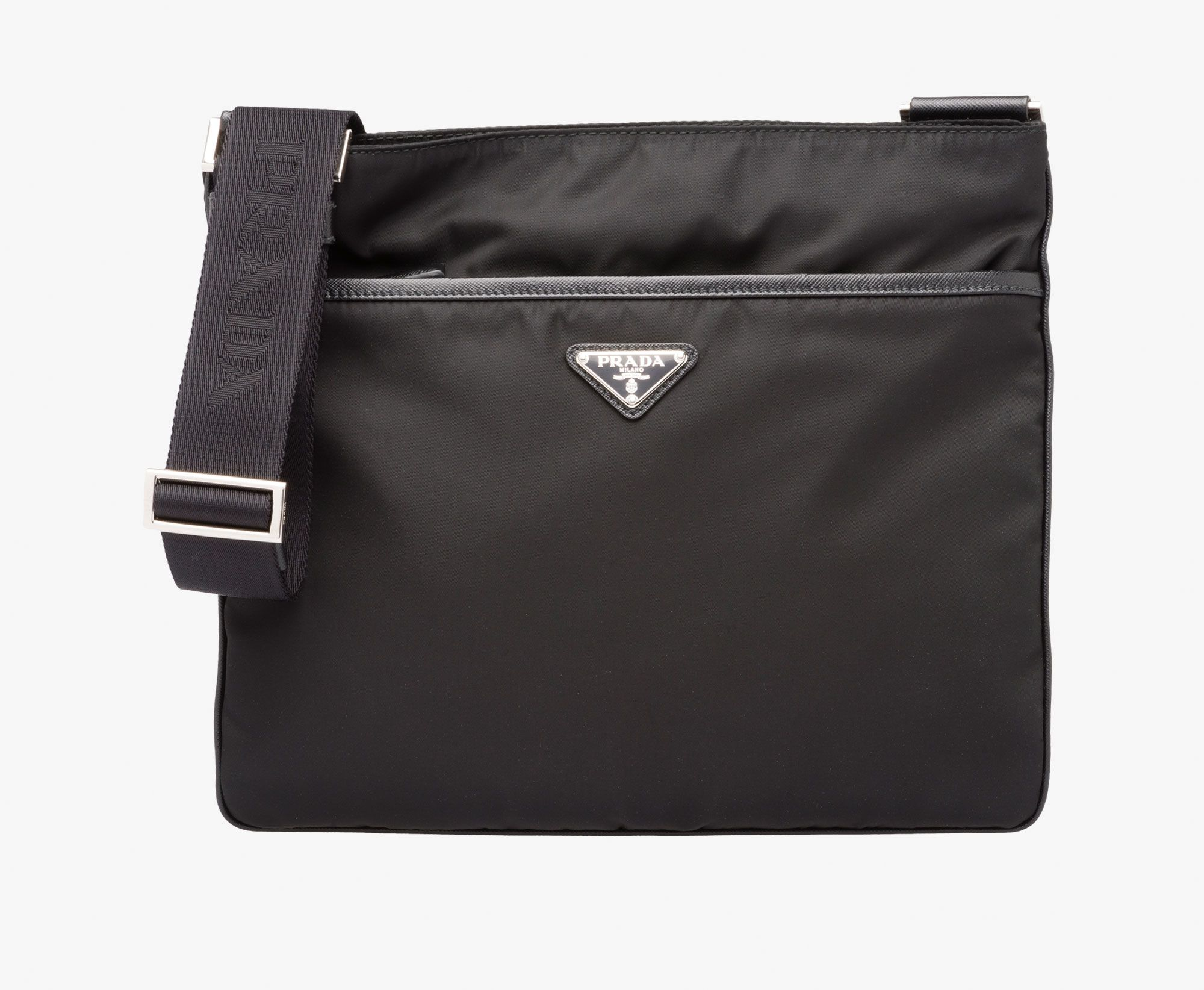 Prada Man - Messenger bag - Black - 2VH053_064_F0002_V_OOO ...