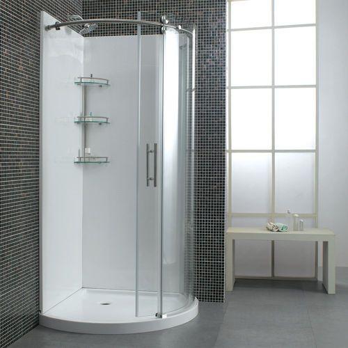 Ove Decors Ariel Round Corner Shower Costco Corner Shower