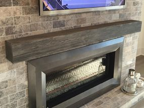 image result for non combustible mantel fireplace ideas