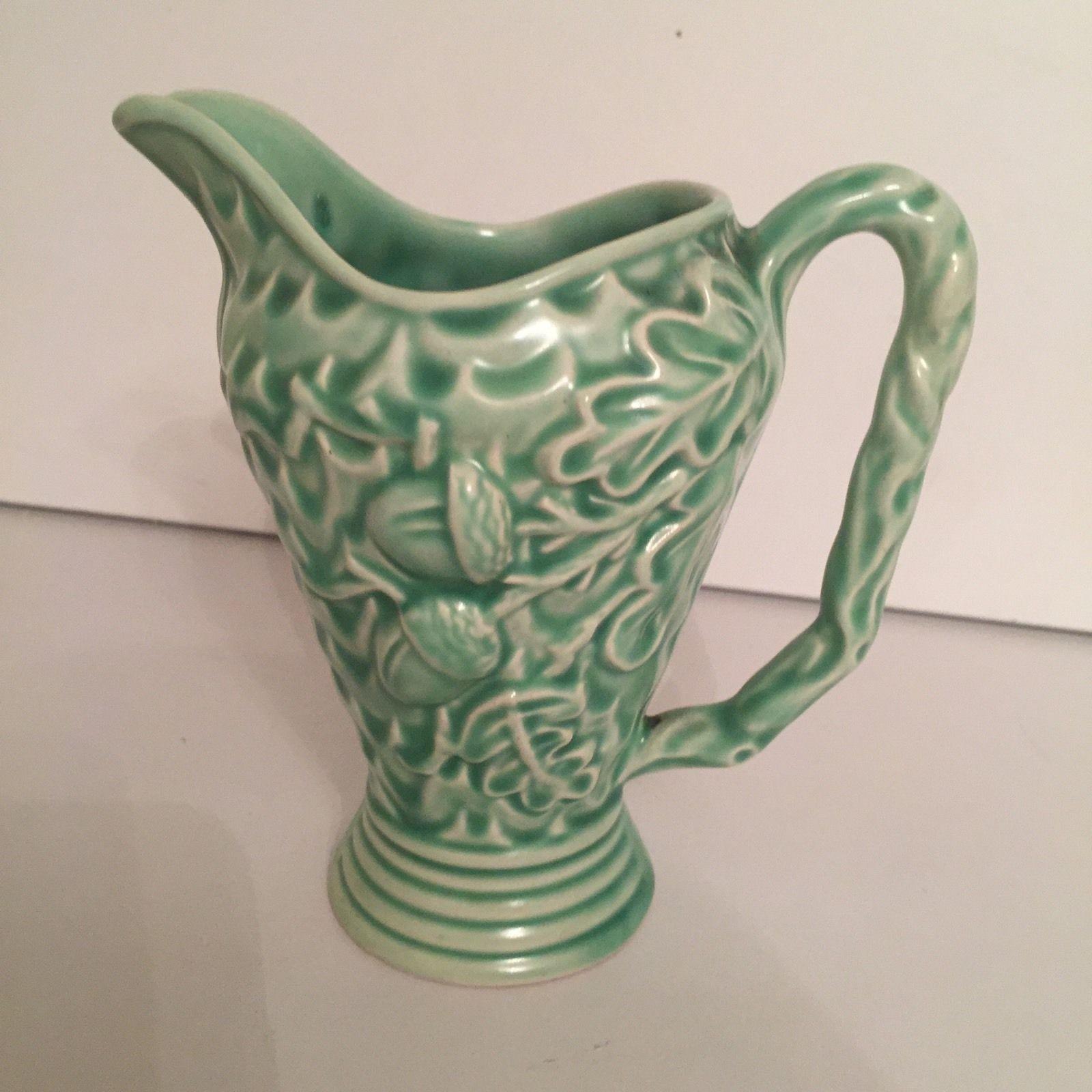 Decorative Jugs And Vases Vintage Wade Art Deco Acorn Oak Jug Pitcher Vase In Pottery