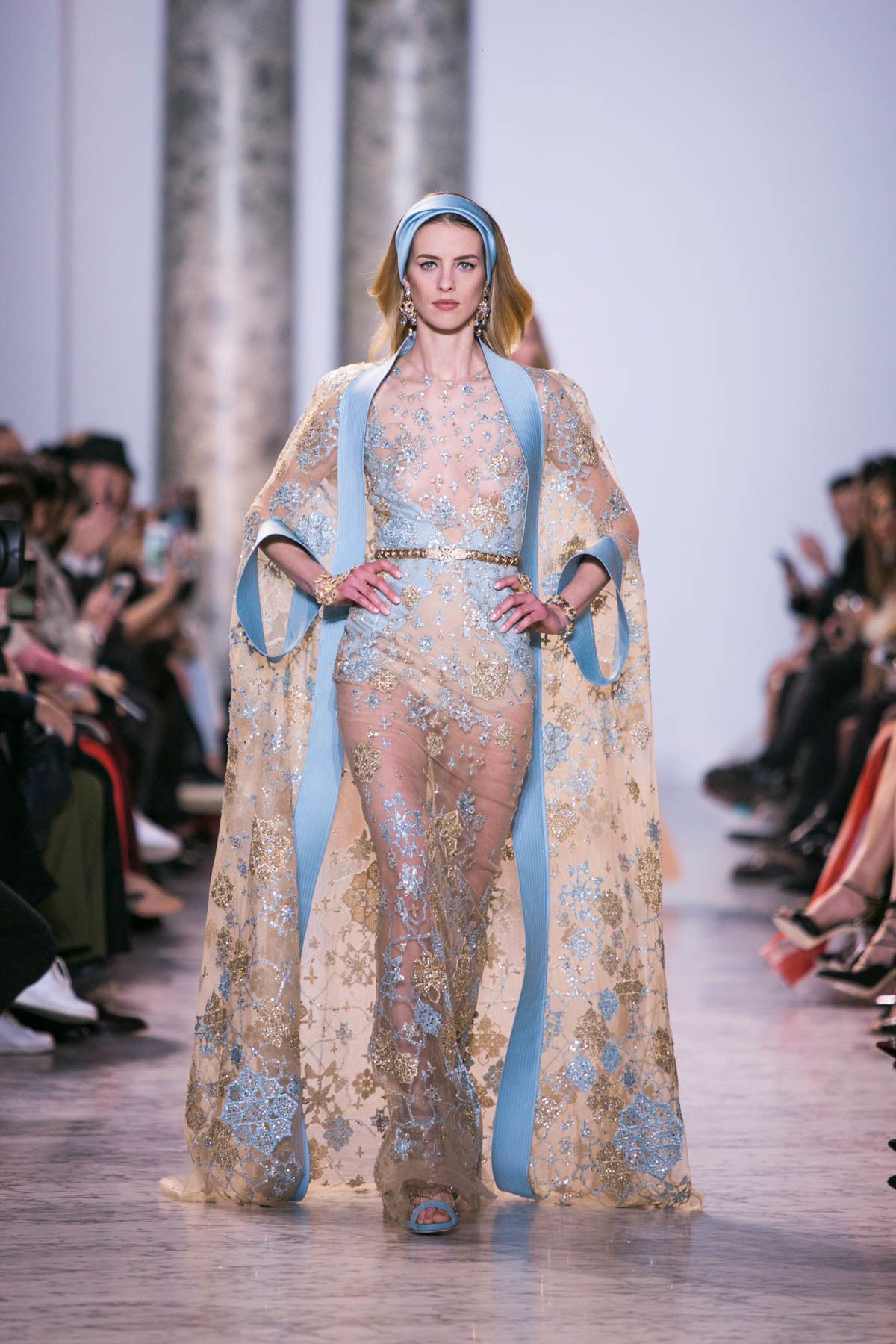 Throwbackthursday dramatic dress mona lucero fashion design - Heaven Is For Real It S Elie Saab S Spring Summer 2017 Haute Couture Collection