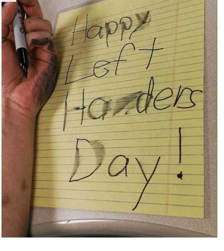 Pin by Matt Monroe on Funny Happy left handers day