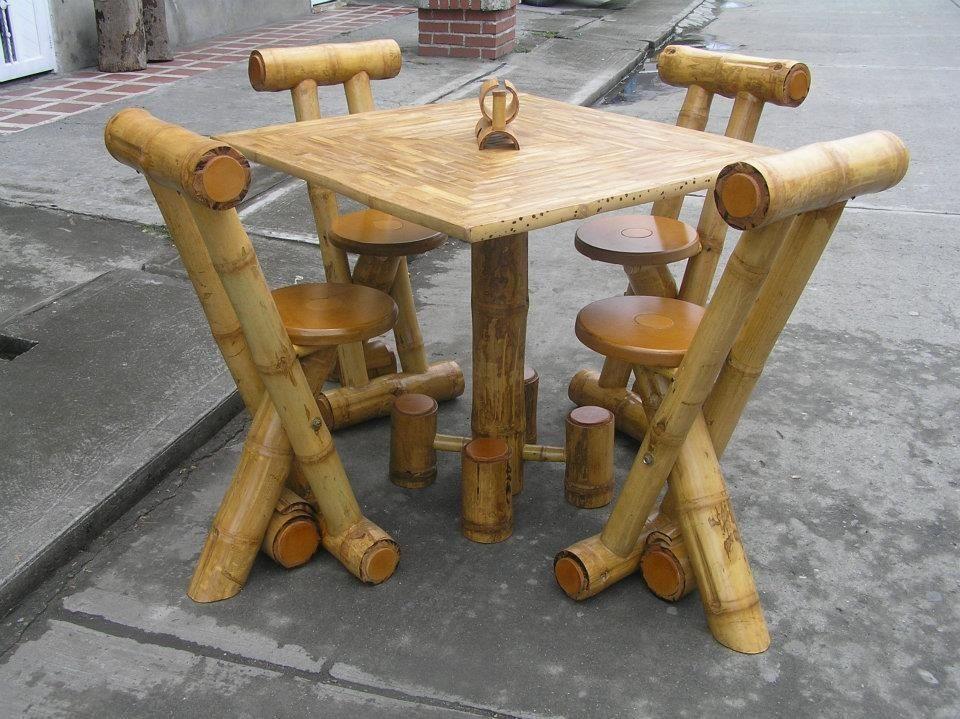 Resultado de imagen para taburetes de caña bambu | CARPINTERIA Y ...