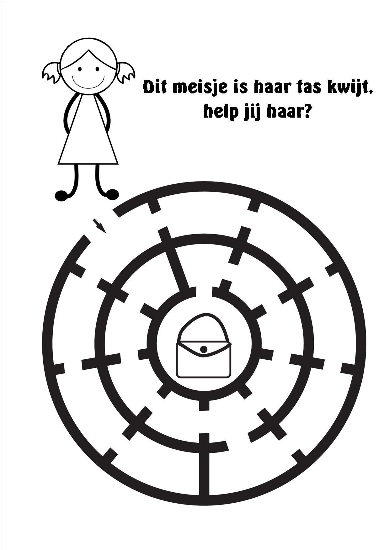 Boekje Rekenen Doolhoven 12