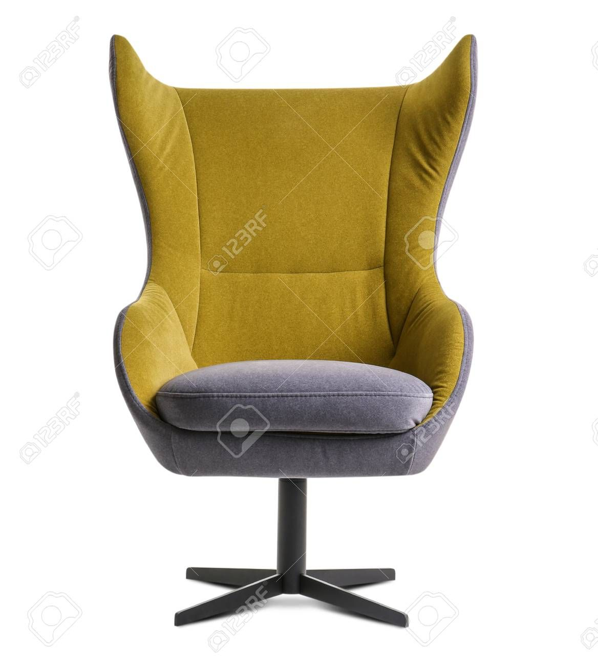 Modern Armchair On White Background Sponsored Paid Armchair Modern Background White In 2020 Modern Armchair Armchair Lounge Chair