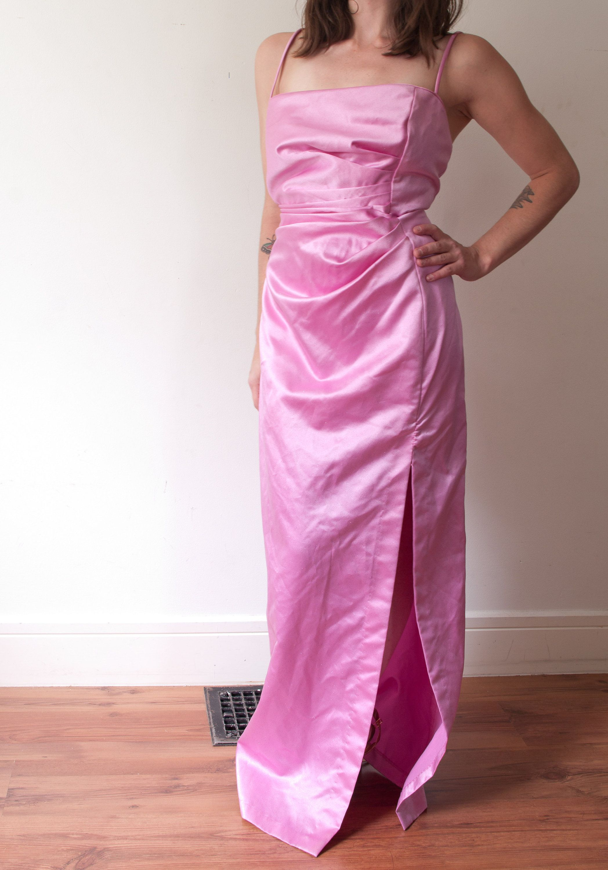 1990 S Pink Jessica Mcclintock Gown Vintage Gunne Sax Etsy Dresses Gowns Jessica Mcclintock [ 3000 x 2096 Pixel ]