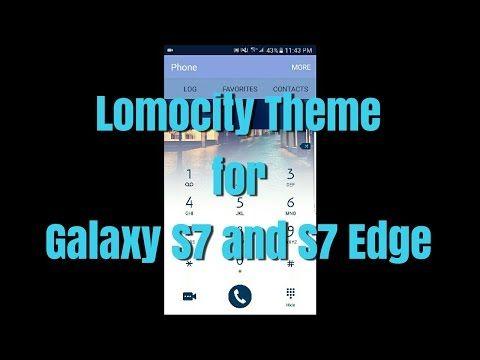 Galaxy S7 / S7 Edge Theme LOMOCITY / Tema LOMOCITY para el