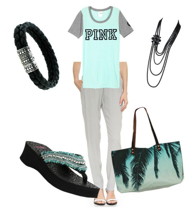 Untitled #147 by cookmary on Polyvore featuring polyvore fashion style Just Female Blazin Roxx Samudra John Hardy Chanel women's clothing women's fashion women female woman misses juniors