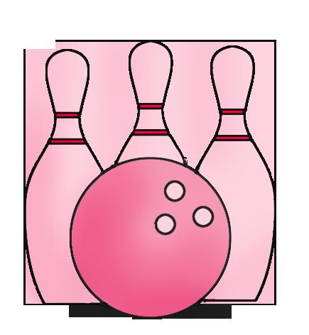 Pink Bowling Icon Fun Things W Grandkids Pinterest Bowling