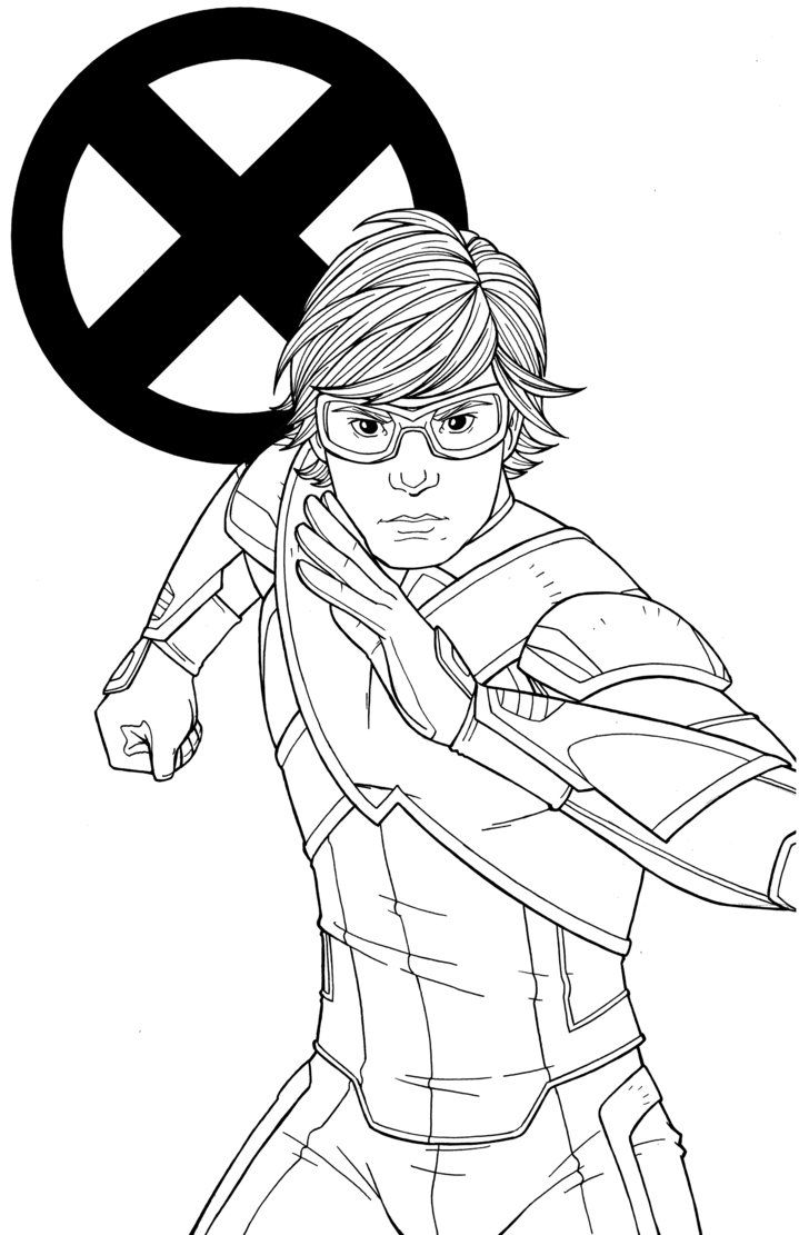 Quicksilver coloring pages - Here Is Evan Peters As Quicksilver In His X Men Uniform From X Men Apocalypse