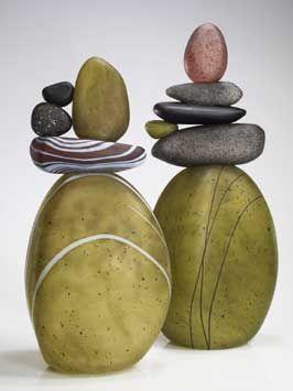 Melanie Leppla, Grovewood Gallery, Asheville NC Crafts   Glass
