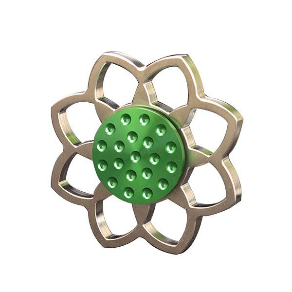 ECUBEE EDC Lotus Fid Spinner Stainless Steel Hand Spinner Reduce