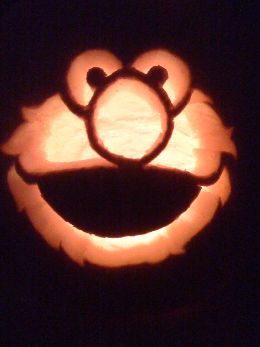 Elmo Pumpkin Carving By Makingmymark On Deviantart Scary Pumpkin Carving Pumpkin Carving Pumpkin Carving Patterns