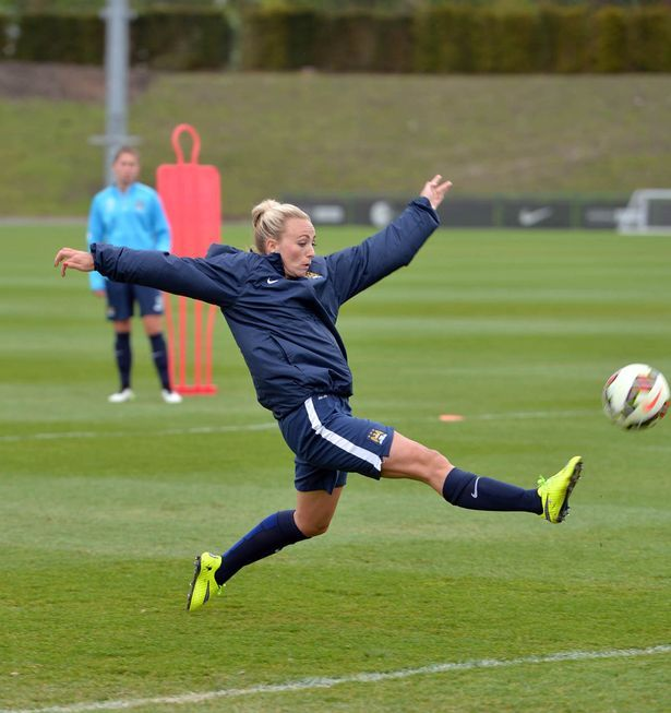 Toni Duggan Man City | Manchester City Women's amazing facilities and lifestyle prove just ...