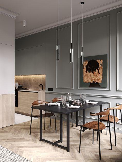 un appartement classique chic par cartelle design deco. Black Bedroom Furniture Sets. Home Design Ideas