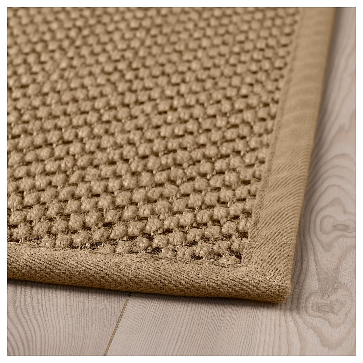 Hellested Rug Flatwoven Natural Brown 5 7