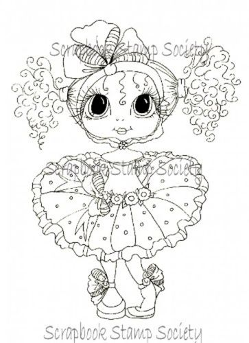 Miss Matilda besties digi stamp by Sherri Baldy | Digi Stamps ...