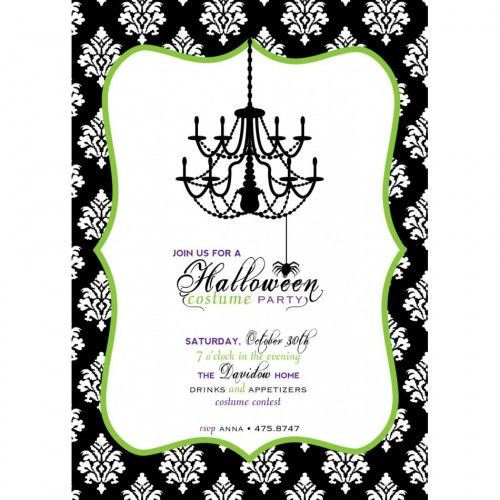 Free Halloween Invitation Templates Printable Party Invitation