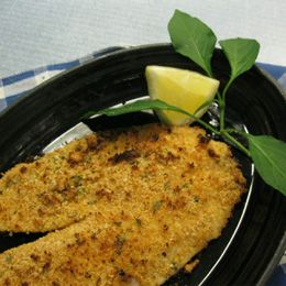 Easy and Tasty Recipe for Oven Baked Breaded Tilapia