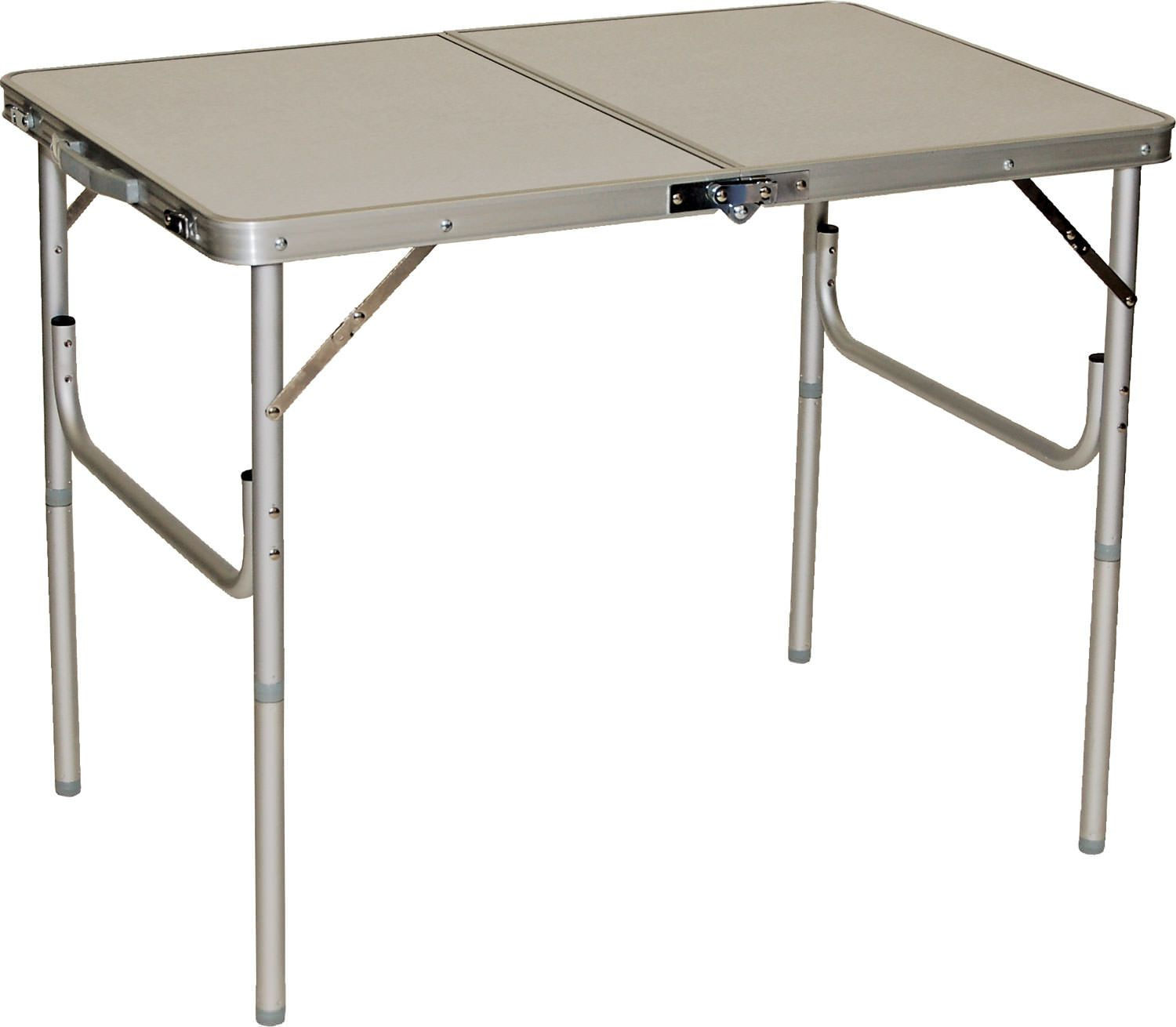 3 Fold N Half Aluminum Table