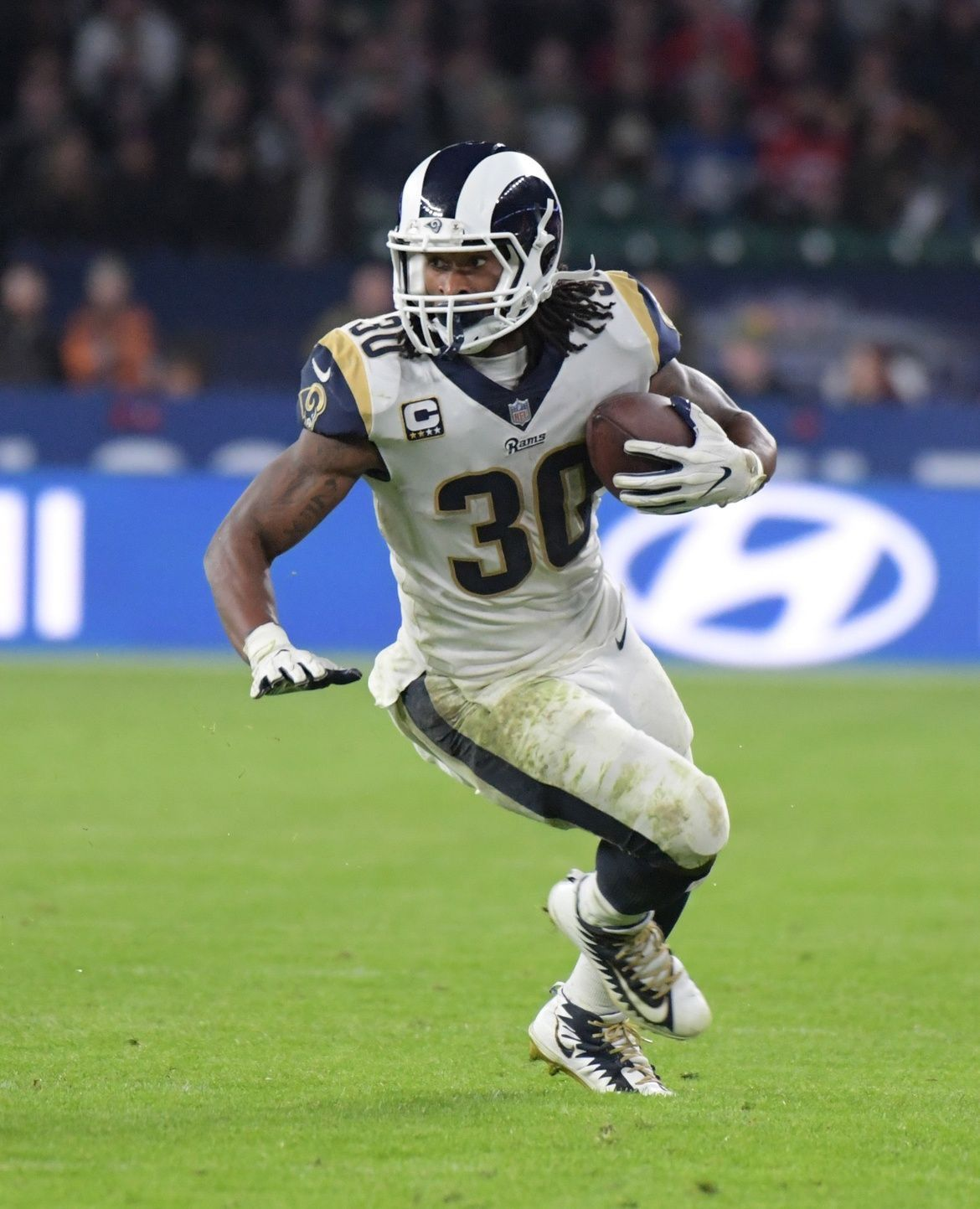 Todd Gurley Ii Rb Los Angeles Rams Los Angeles Rams Todd Gurley Rams Football