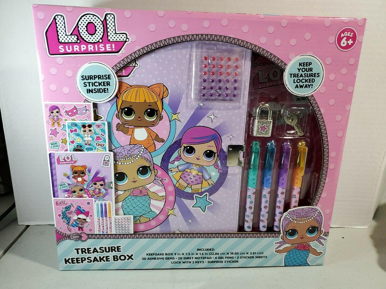 LOL Surprise Treasure Keepsake Box