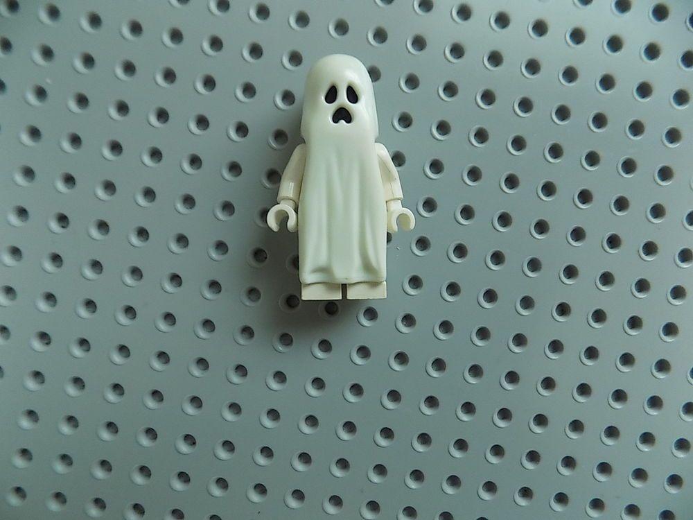 Lego Ghost Minifigure Glow In The Dark Halloween Monster