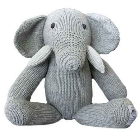 Edward the elephant organic cotton soft toy