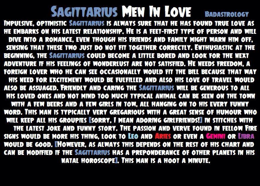 Sagittarius men in love | Sagittarius man, Sagittarius man